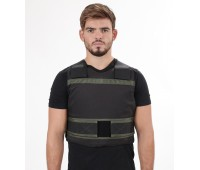 Concealed Bulletproof and Stab Proof Vest with Polyethylene Boron Carbide Plates Level IV
